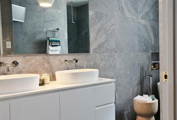 Block ios6 luxe by design for Bathroom designs the block