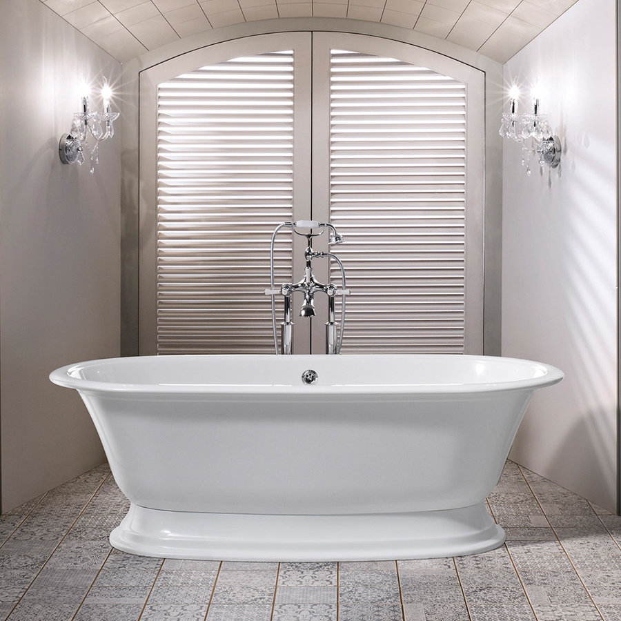 Victoria + Albert Elwick Traditional Bath In Volcanic Limestone Is  Distributed In Quenesland By Luxe By