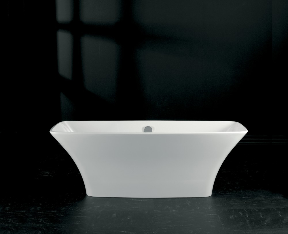 Victoria + Albert Ravello in volcanic limestone is distributed in Quenesland by Luxe by Design, Brisbane.