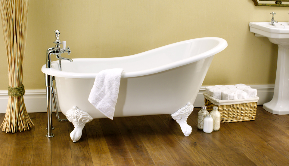 Victoria albert shropshire bath luxe by design for Victoria albert clawfoot tub