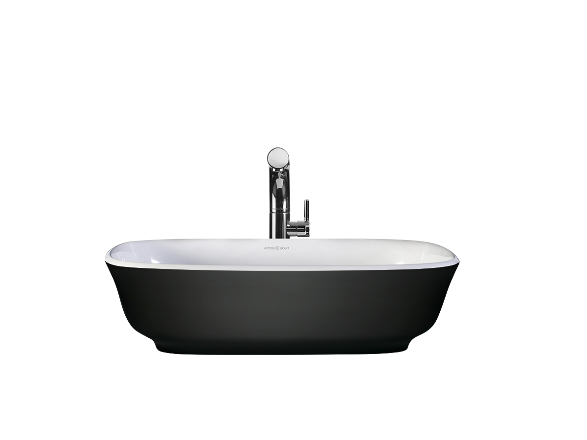 Black Bathroom Basin : ... Matte Black basin custom painted bath by Luxe by Design, Brisbane