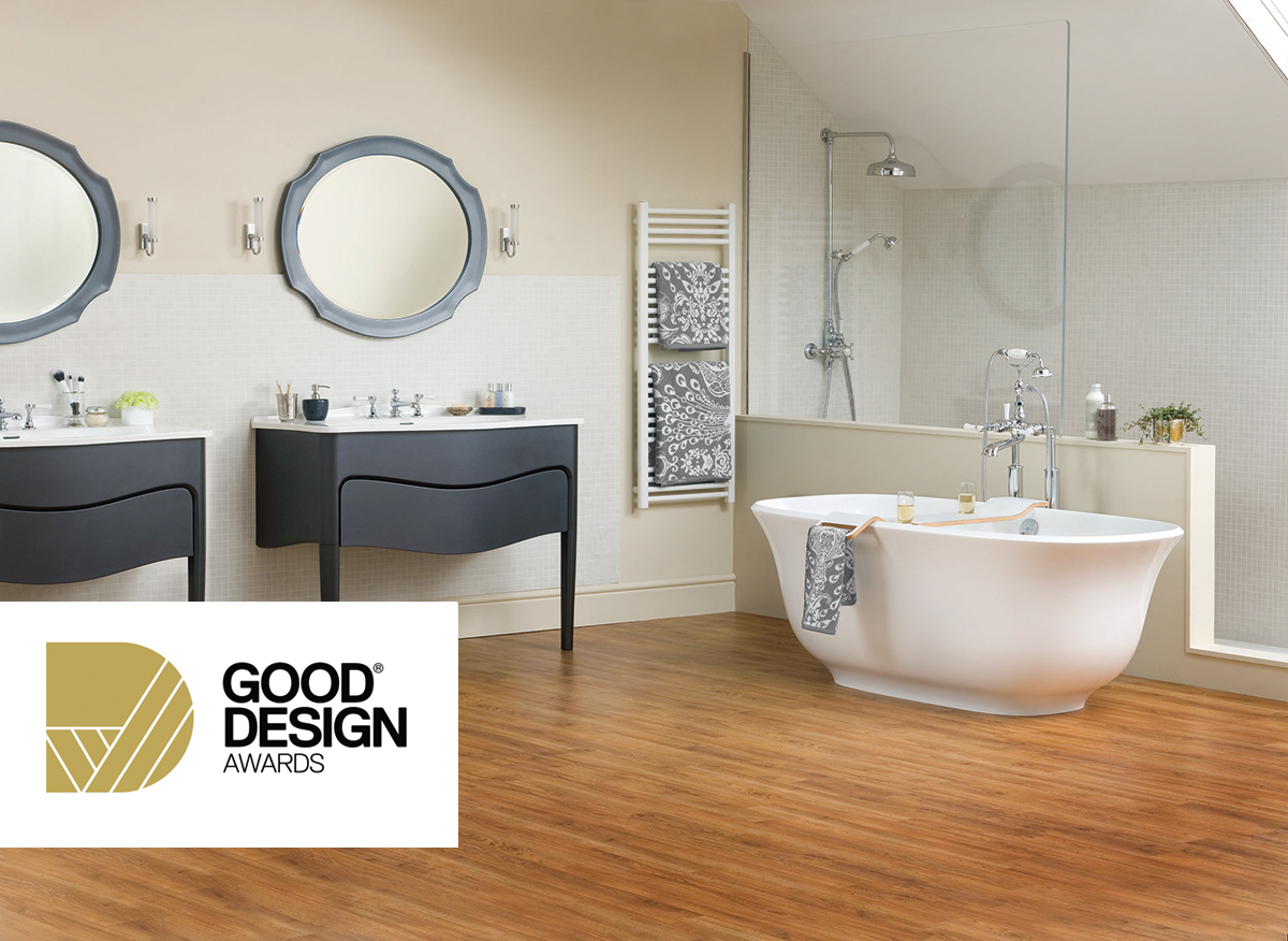 Victoria + Albert Amiata bath nominated for Good Design Award, Australia 2015.