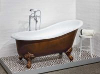 Victoria + Albert Shropshire bath - Brushed Bronze