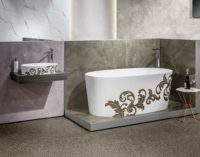Victoria + Albert Ios bath and basin - matte filigree