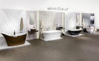 Victoria + Albert Gallery showroom display at Domayne Alexandria.